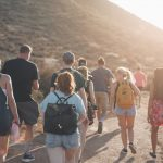 People hiking at Tropical Coast Boot Camp