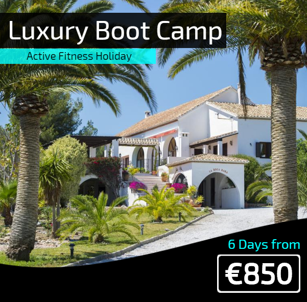 Luxury boot camp Spain